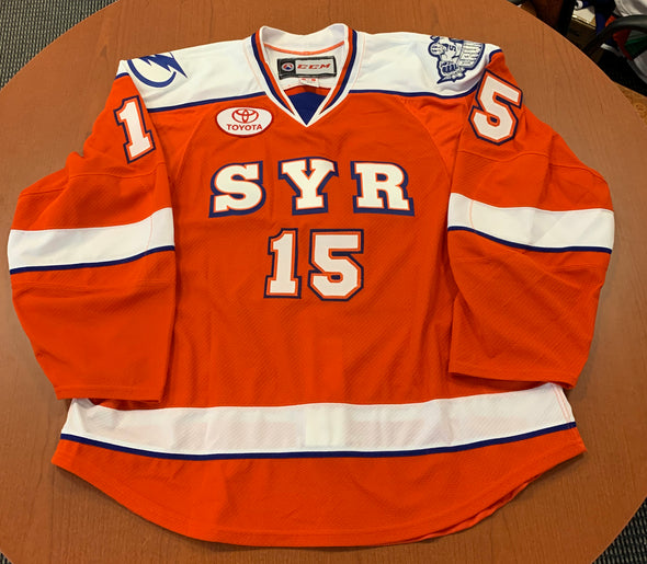 #15 Blank Orange Jersey (emergency player jersey) - 2014-15