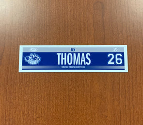 #26 Ben Thomas Road Nameplate - 2015-20