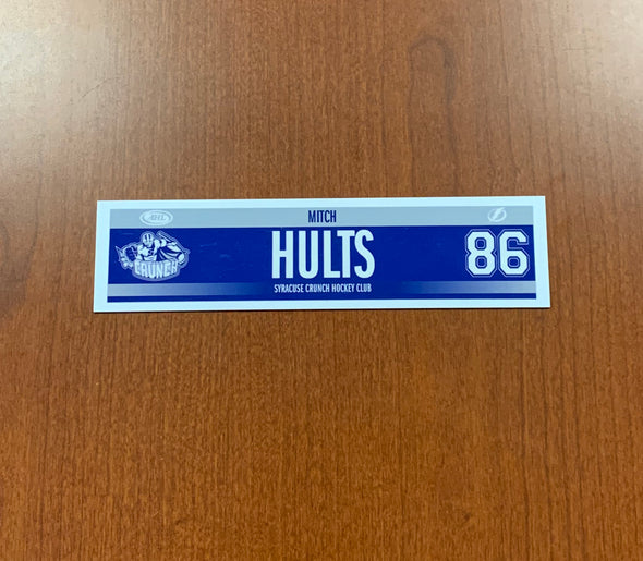 #86 Mitch Hults Road Nameplate - 2018-19