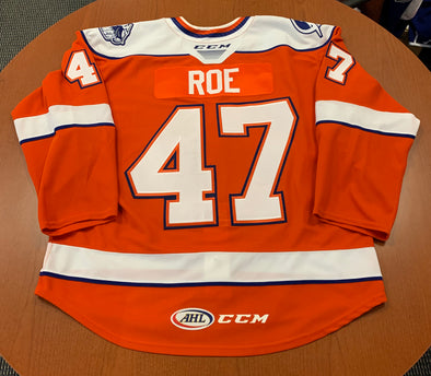 #47 Logan Roe Orange Jersey - 2019-20