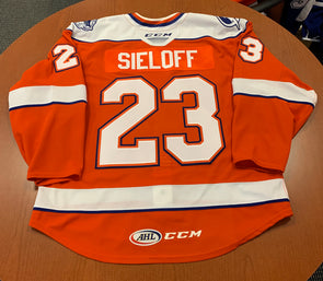 #23 Patrick Sieloff Orange Jersey - 2019-20