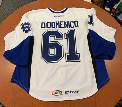 #61 Chris DiDomenico Warmup Jersey - 2017-18