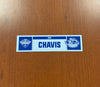 Head Athletic Trainer Brad Chavis Home Nameplate - 2019 Calder Cup Playoffs