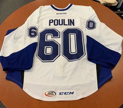 #60 Kevin Poulin Warmup Jersey, 2015-16