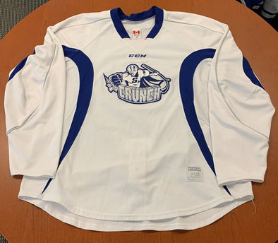 White Practice Jersey - CCM - Multiple Sizes