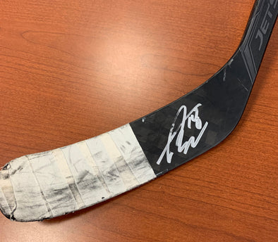 #18 Taylor Raddysh Autographed Game-Used Stick - 2019-20