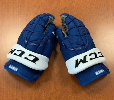 #18 Taylor Raddysh Game-Used Gloves - 2019-20