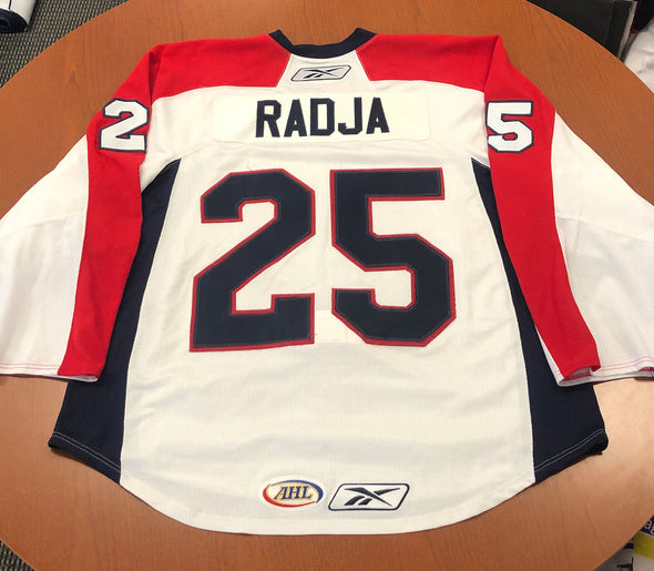 #25 Mike Radja Warmup Jersey - 2009-10