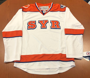 White SYR Replica Jersey