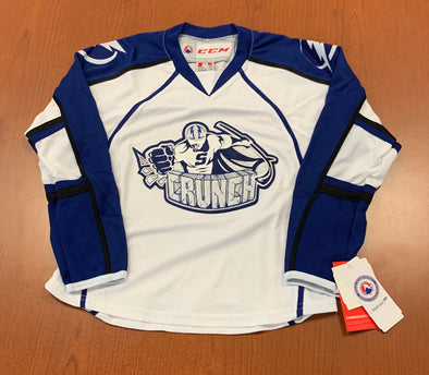Syracuse Crunch Youth Replica Jersey - WHITE