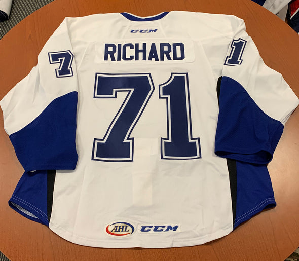 #71 Tanner Richard Warmup Jersey - Authentic