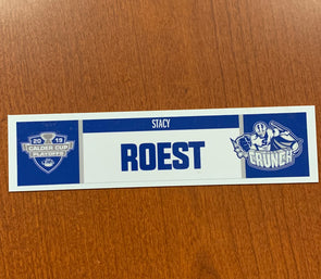 General Manager Stacy Roest Home Nameplate Calder Cup Playoffs - 2017