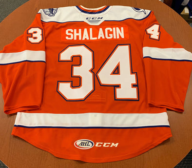 #34 Mikhail Shalagin Orange Jersey - 2019-20
