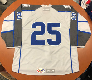Authentic #25 Silver Jersey