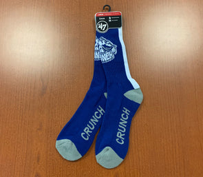'47 Brand Blue Crunch Socks