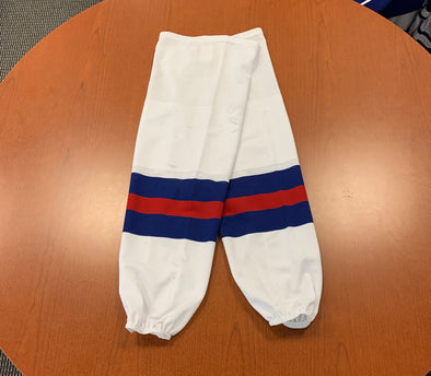 Miracle on Ice Game-Issued Socks (NEW) - February 14, 2020