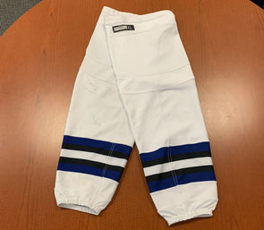 White Game Used Socks - CCM - Tampa Bay Era
