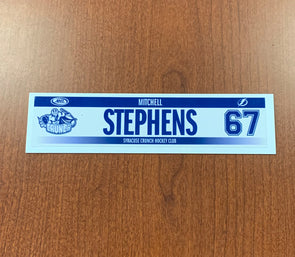 #67 Mitchell Stephens Home Nameplate - 2015-20