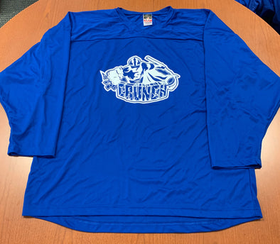 #36 Blue Street Crunch Jersey (NEW) - 2019