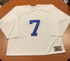 #7 White Street Crunch Jersey (NEW) - 2017