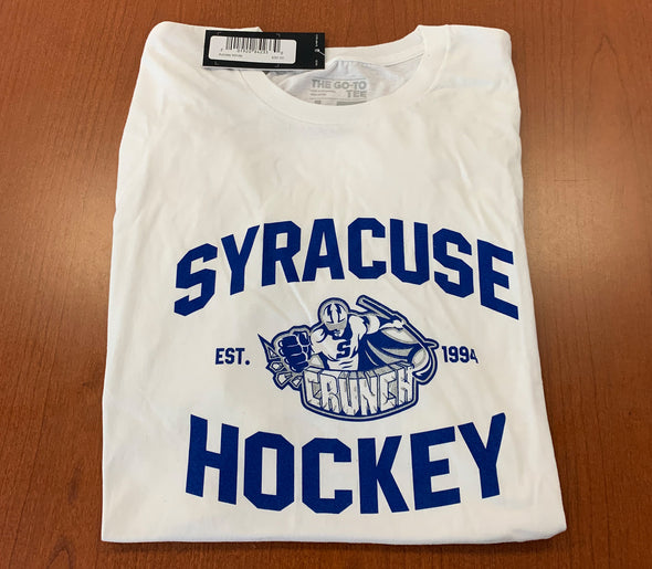 Adidas Syracuse Hockey Tee - White