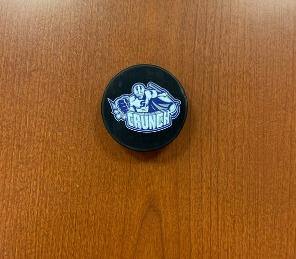 #16 Otto Somppi AUTOGRAPHED Tully's Puck - 2019-20