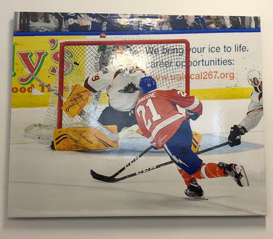 #21 Carter Verhaeghe (Stanley Cup Champion) Thinwrap 24x30 Gloss Photo