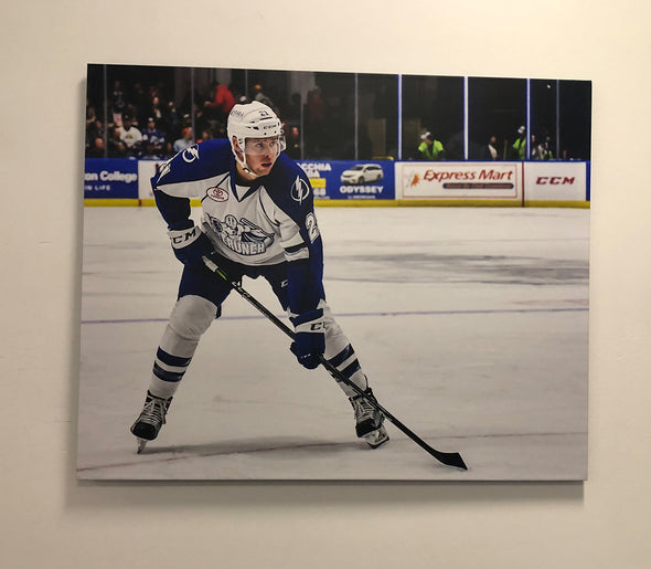 #21 Carter Verhaeghe (Stanley Cup Champion) Thinwrap 24x30 Photo