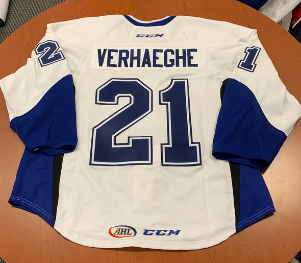 #21 Carter Verhaeghe Warmup Jersey - Authentic