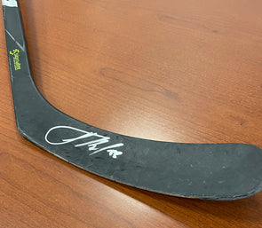 #83 Alexander Volkov Autographed Game-Used Stick - 2019-20