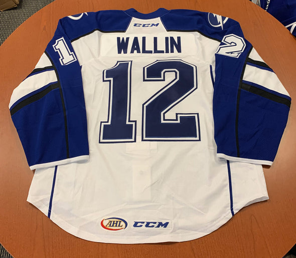 #12 Terrence Wallin White Jersey - 2017-18