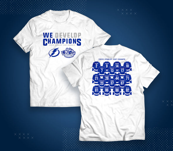 We Develop Champions Tee