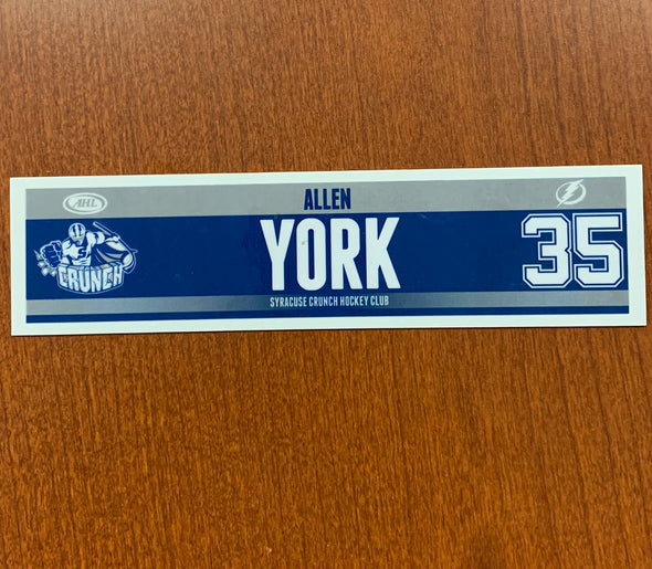 #35 Allen York Road Nameplate, 2013-16