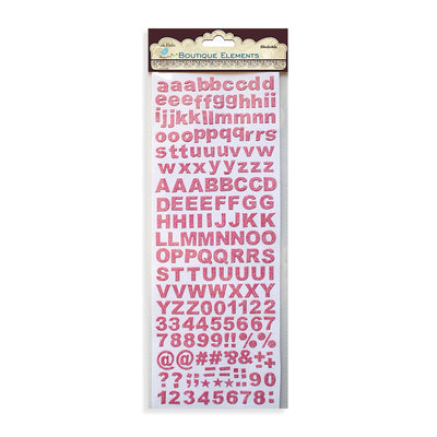 Alpha Glitter Stickers 172pcs Party