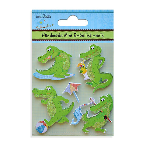 Handmade Minis Crocodile 5Pc PBCI Little Birdie