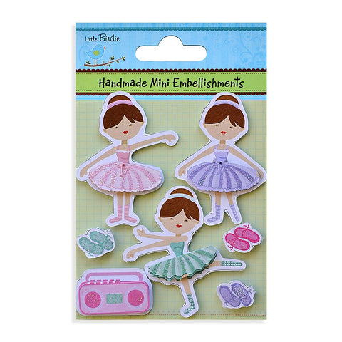 Handmade Minis Girls dance 7pcs