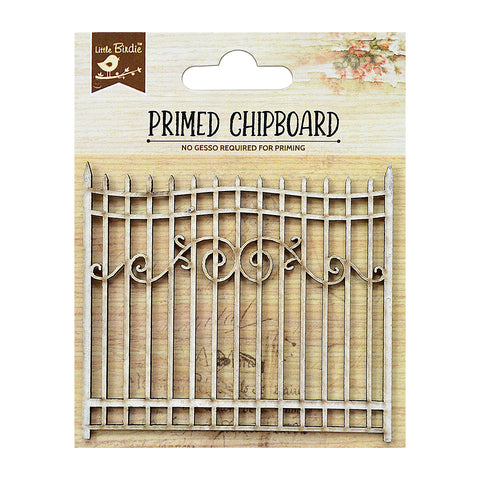 Chipboard Gate 1pc PBCI Little Birdie
