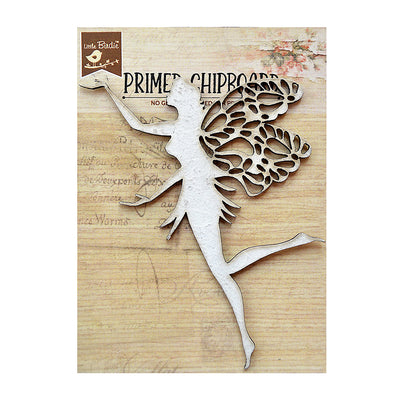 Primed Chipboard - Fairy, 1pc