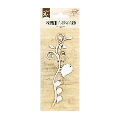 Chipboard - Birds on Branch, 1pc