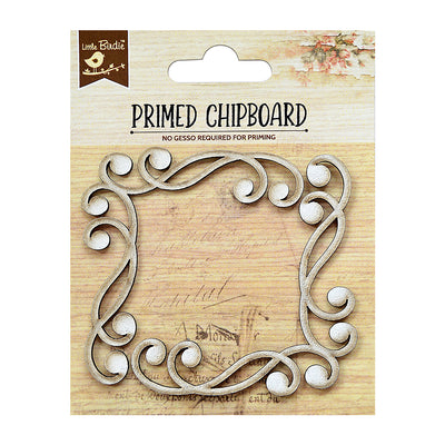 Chipboard Corners 2pc PBCI Little Birdie