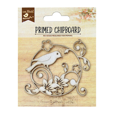 Chipboard Garden Bird 1pc PBCI Little Birdie