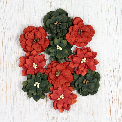 Christmas Serenade Blooms - 10pcs
