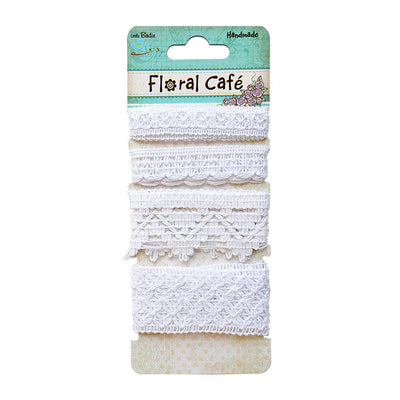 Crochet Trims- White 2mt