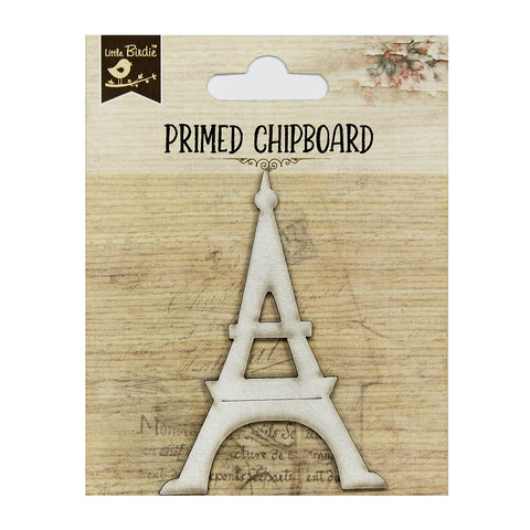 Chipboard Eiffel Tower 1pcsPBCI Little Birdie