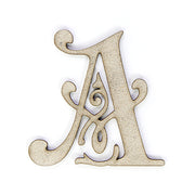 Chipboard Ornate Alpha A 1pc Little Birdie