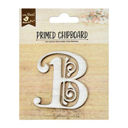 Chipboard Ornate Alpha B 1pc PBCI Little Birdie