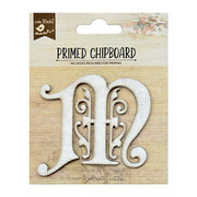 Chipboard Ornate Alpha M 1pc PBCI Little Birdie