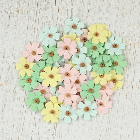 Spring Beaded Mini Daises - 40pcs