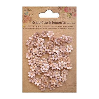 Beaded Micro Petals - Bisque, 60pcs
