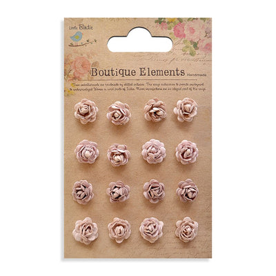 Micro Roses - Bisque, 16pcs